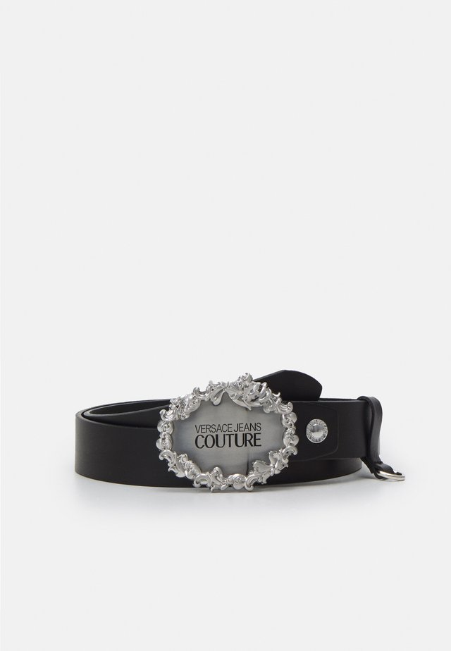 Belt - black/silver-coloured
