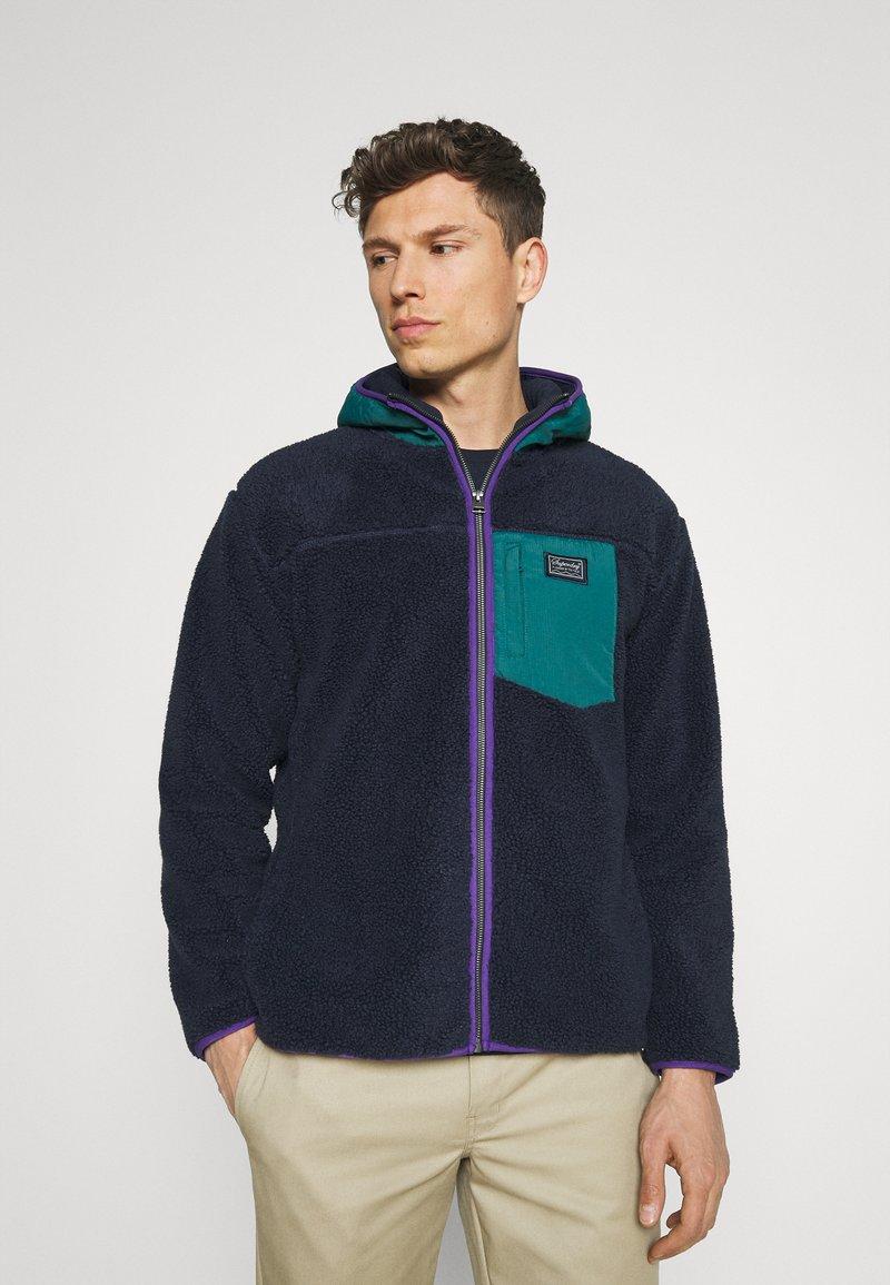 Superdry - ZIP THRU HOOD - Summer jacket - nautical navy