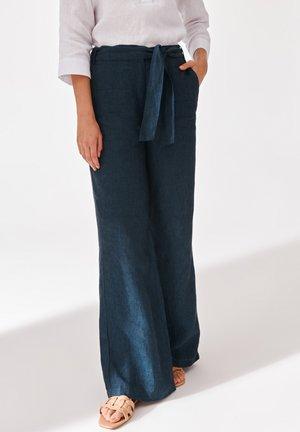 OLENA  - Trousers - navy blue mel