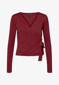 Vero Moda - Long sleeved top - cabernet - 0