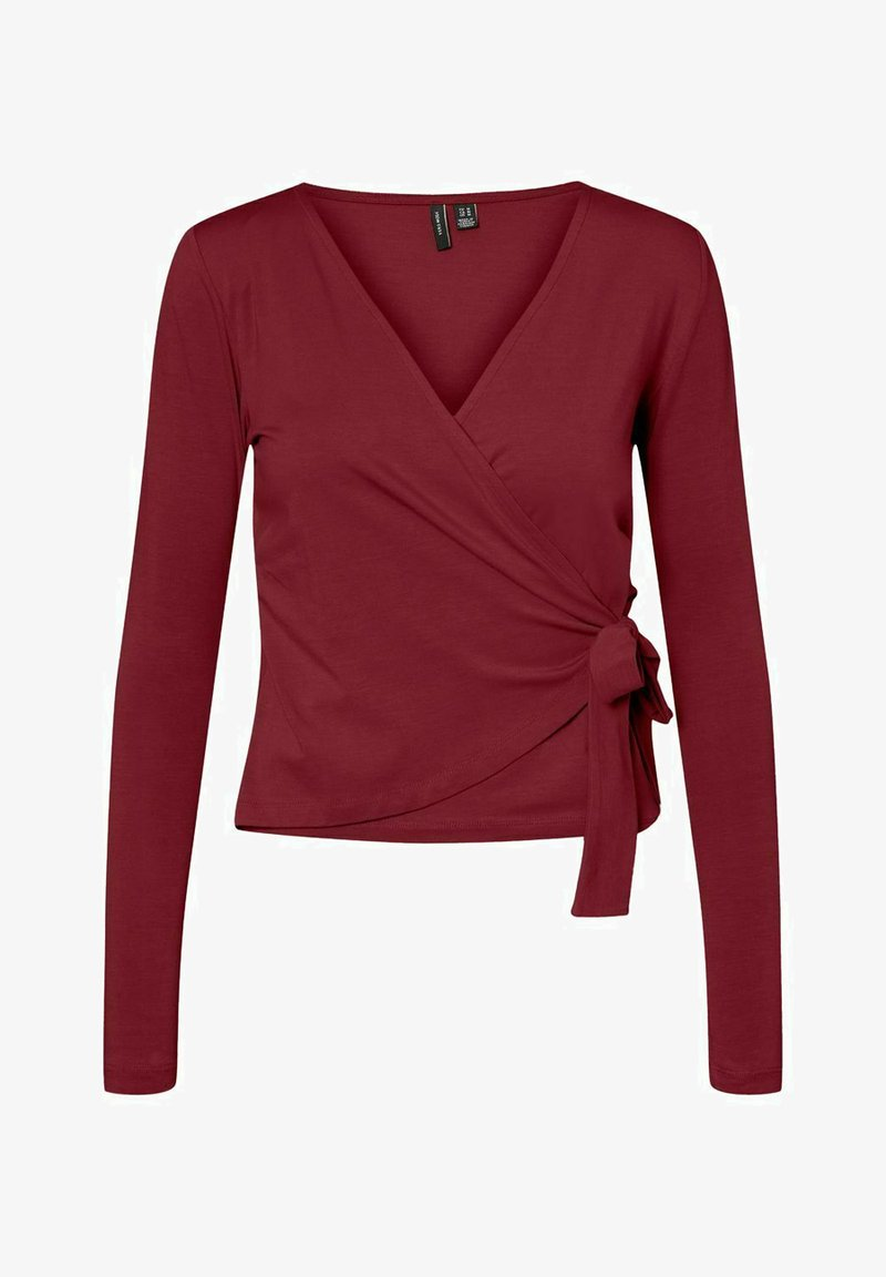 Vero Moda - Long sleeved top - cabernet
