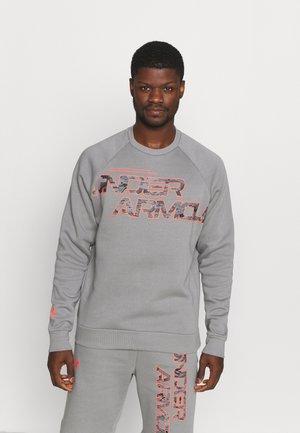RIVAL CAMO SCRIPT - Sweatshirt - grey