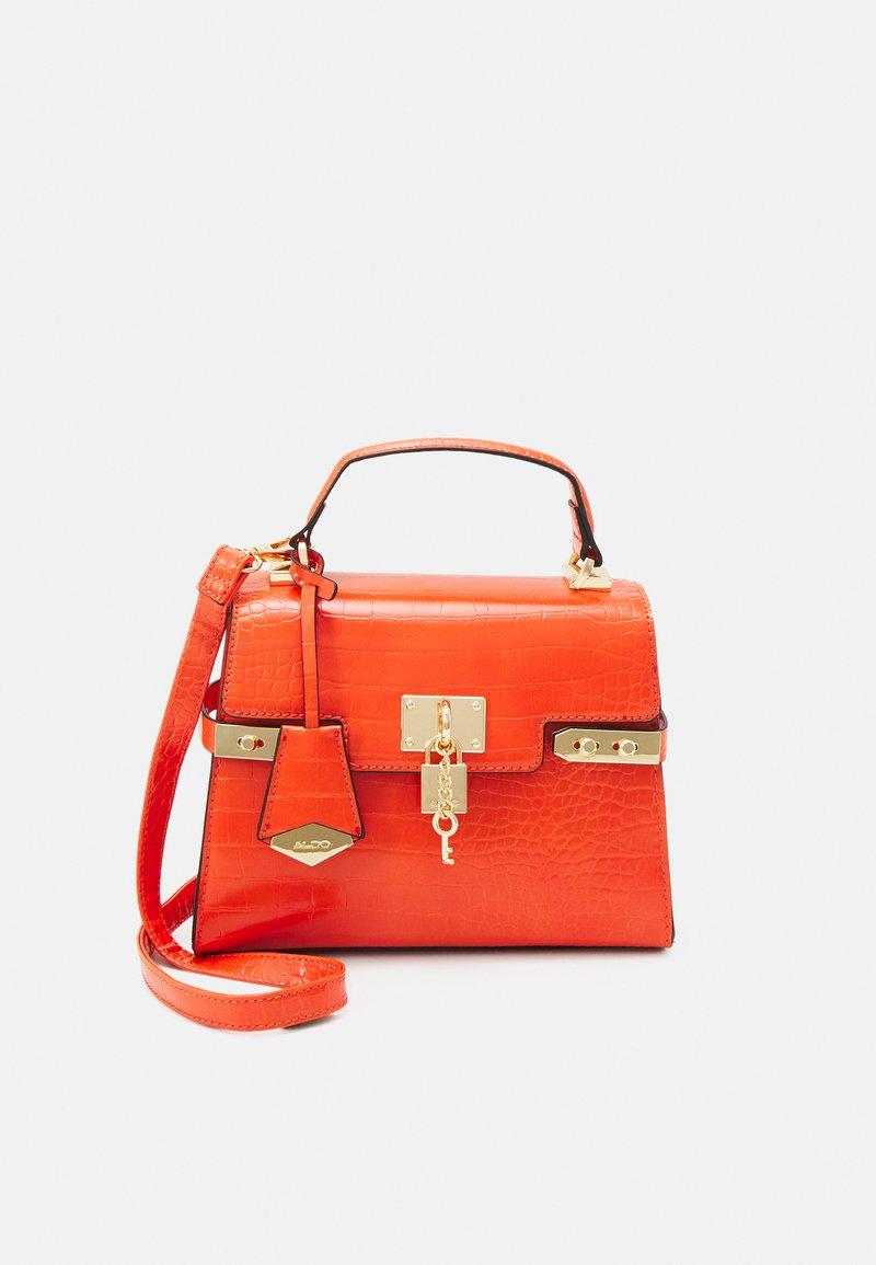 ALDO - AGROLIA - Handbag - orange/gold-coloured