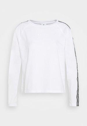LONG SLEEVE LEGACY - Bluzka z długim rękawem - white