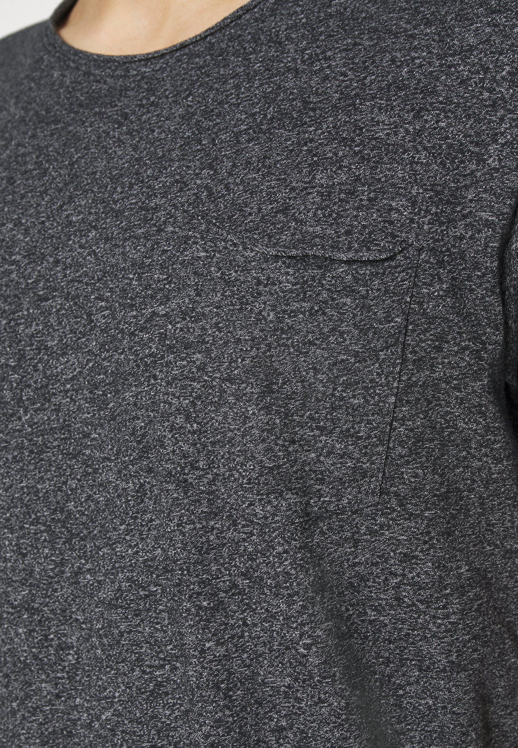edc by Esprit GRIND - Basic T-shirt - anthracite hWSsR