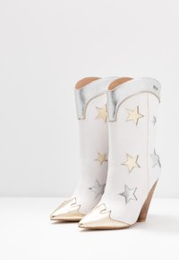 Liu Jo Jeans - GUENDA  - High heeled boots - white - 4