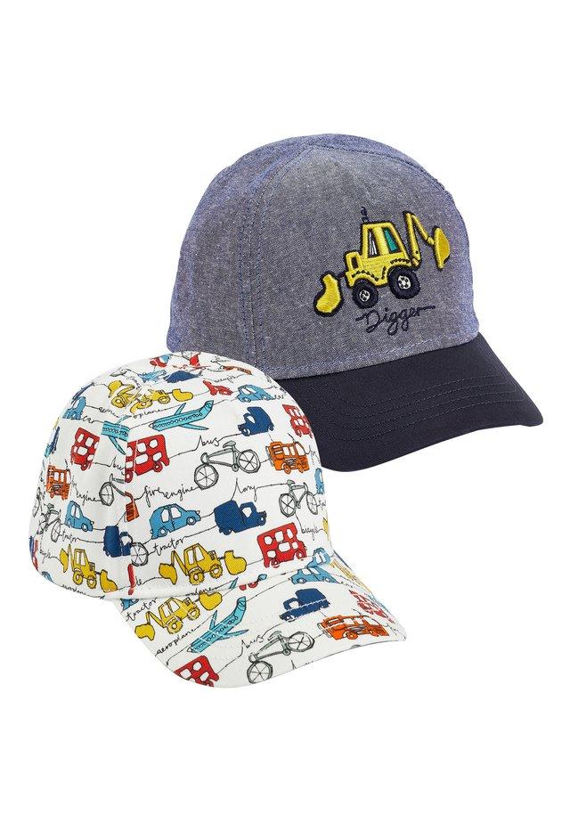 2 PACK TRANSPORT CAPS - Cap - blue