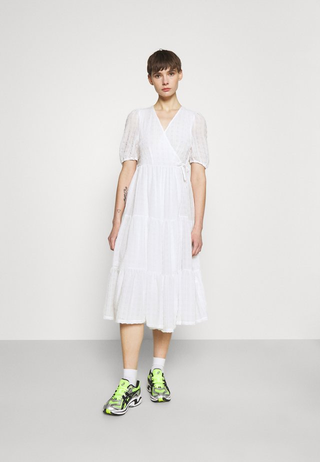 YOSSE DRESS - Korte jurk - white light