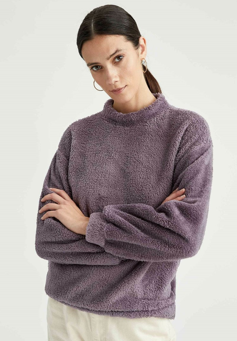 DeFacto - Fleece jumper - purple