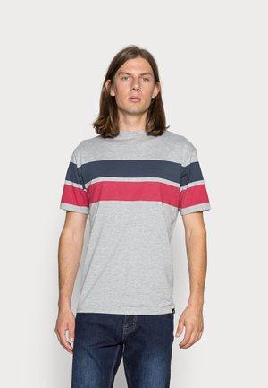 BLOCK STRIPE - T-shirt print - grey