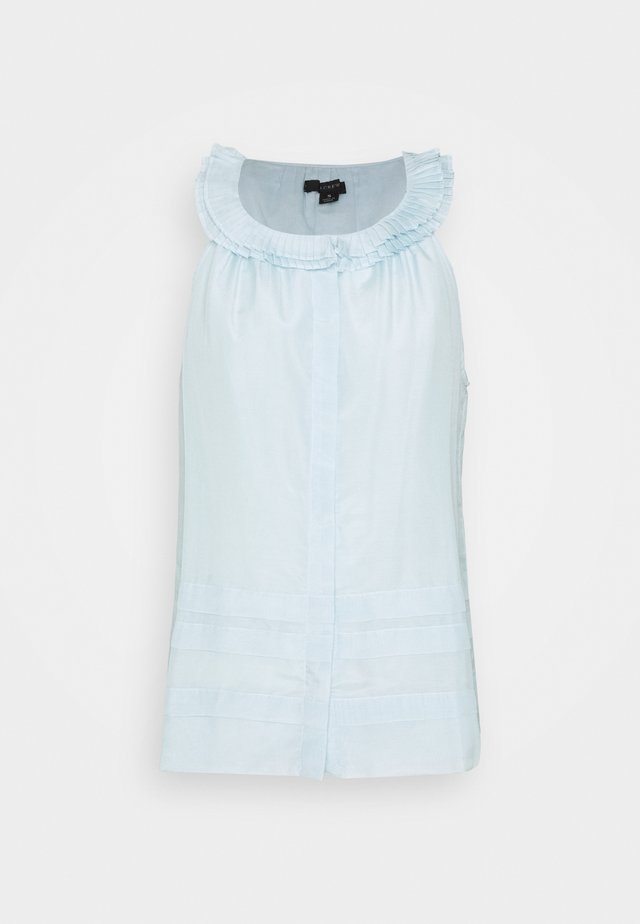 MARAVILLA PLEATED COLLAR  - Bluse - classic sky