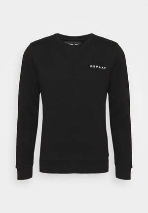 CREW NECK - Felpa - black