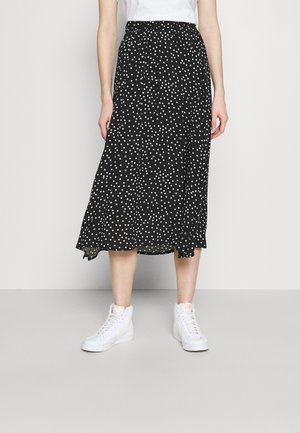 JIVA  - A-line skirt - black