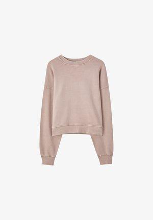 MIT LANGEN ÄRMELN - Sweatshirt - rose