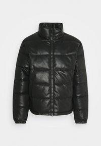 COLE JACKET UNISEX - Veste en similicuir - black
