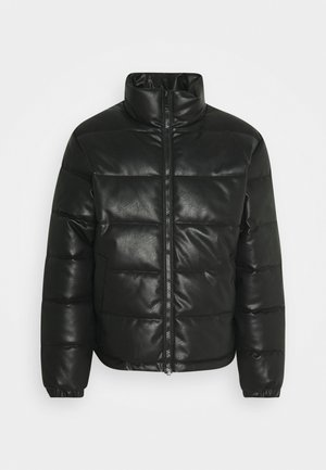 COLE JACKET UNISEX - Faux leather jacket - black