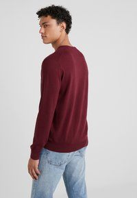 Polo Ralph Lauren - LONG SLEEVE - Sweter - classic wine heather - 2