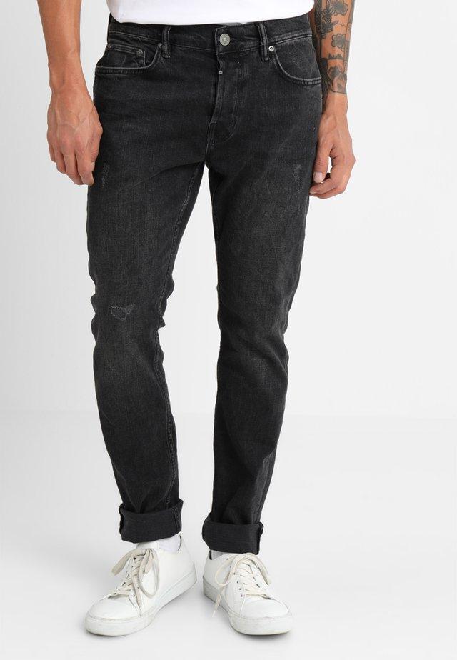REX - Slim fit jeans - washed black