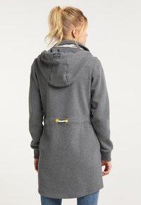 Schmuddelwedda - Zip-up hoodie - steingrau melange - 2