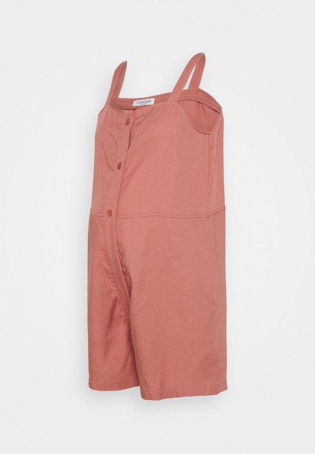 NURSING PLAYSUIT - Tuta jumpsuit - dusty pink