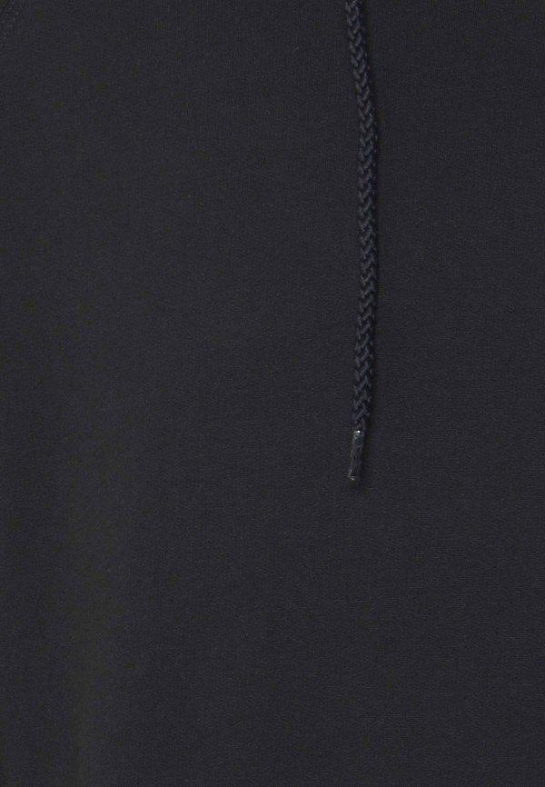 Denim Project BASIC HOODIE - Bluza z kapturem - navy/granatowy Odzież Męska ZGHI