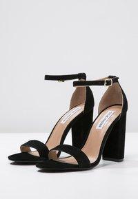 Steve Madden - CARRSON - High heeled sandals - black - 3