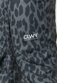 COLOURWEAR - CORK PANT - Snow pants - black - 5
