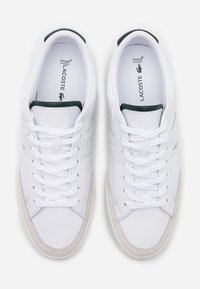 Lacoste - COUPOLE - Sneakers - white/dark green - 3