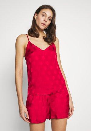 VIK DEBARDEUR  - Pyžamový top - rouge
