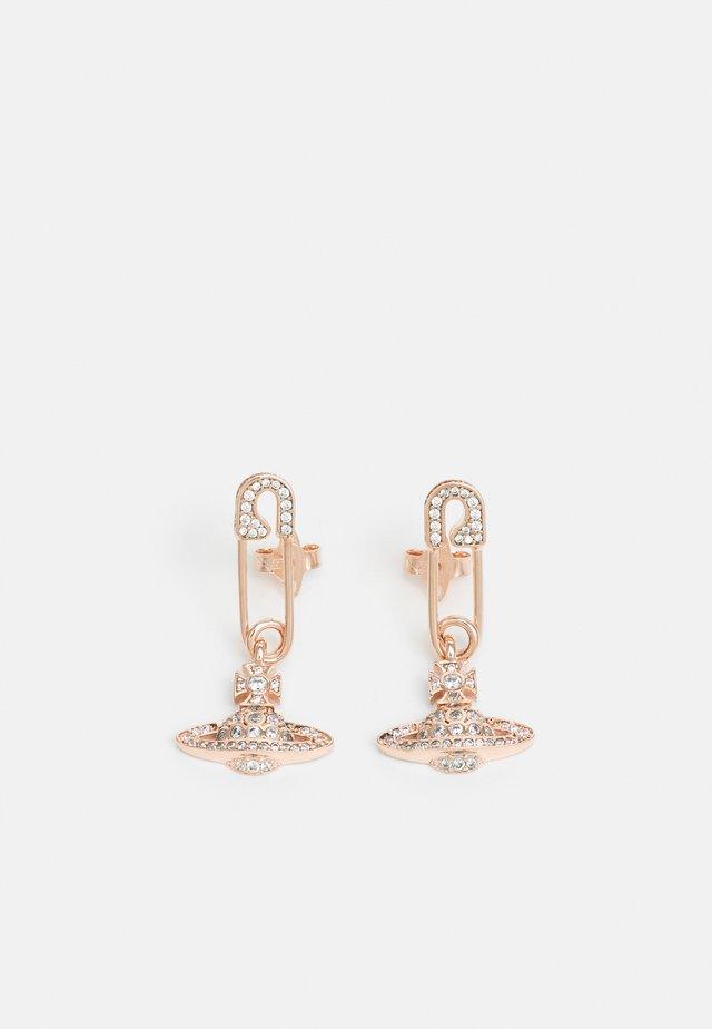LUCRECE EARRINGS - Ohrringe - rose goldcoloured