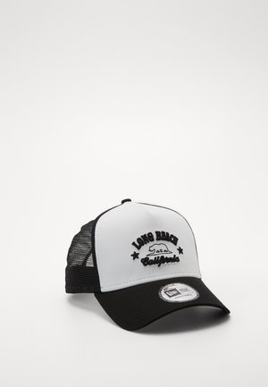 DESTINATION TRUCKER - Cappellino - white/black