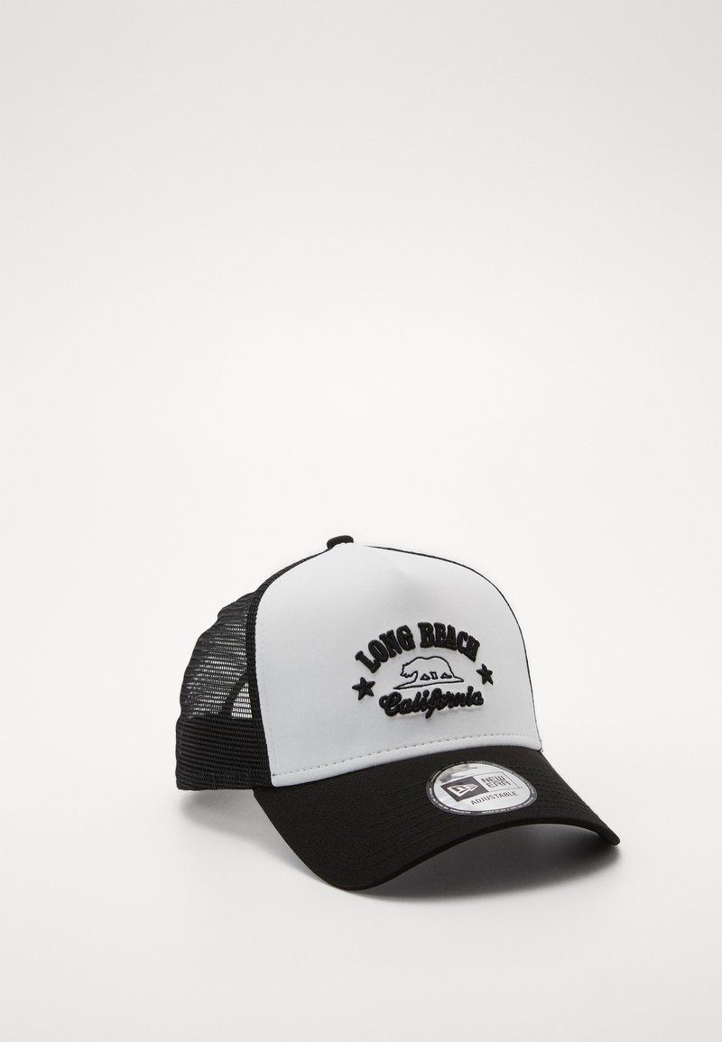 New Era - DESTINATION TRUCKER - Cap - white/black