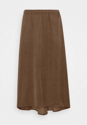 RAHEL - Áčková sukně - brown