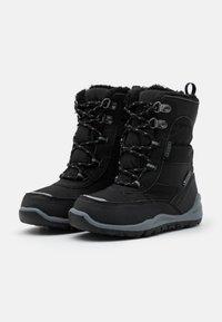 Kappa - ALIDO TEX UNISEX - Winter boots - black/grey - 1