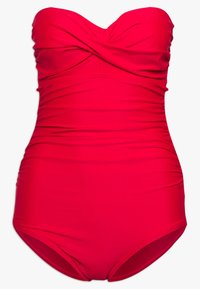 Pour Moi - SANTA MONICA STRAPLESS CONTROL SWIMSUIT - Swimsuit - red - 6