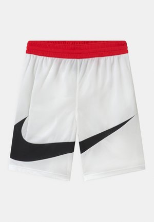 BASKETBALL - kurze Sporthose - white/university red/black