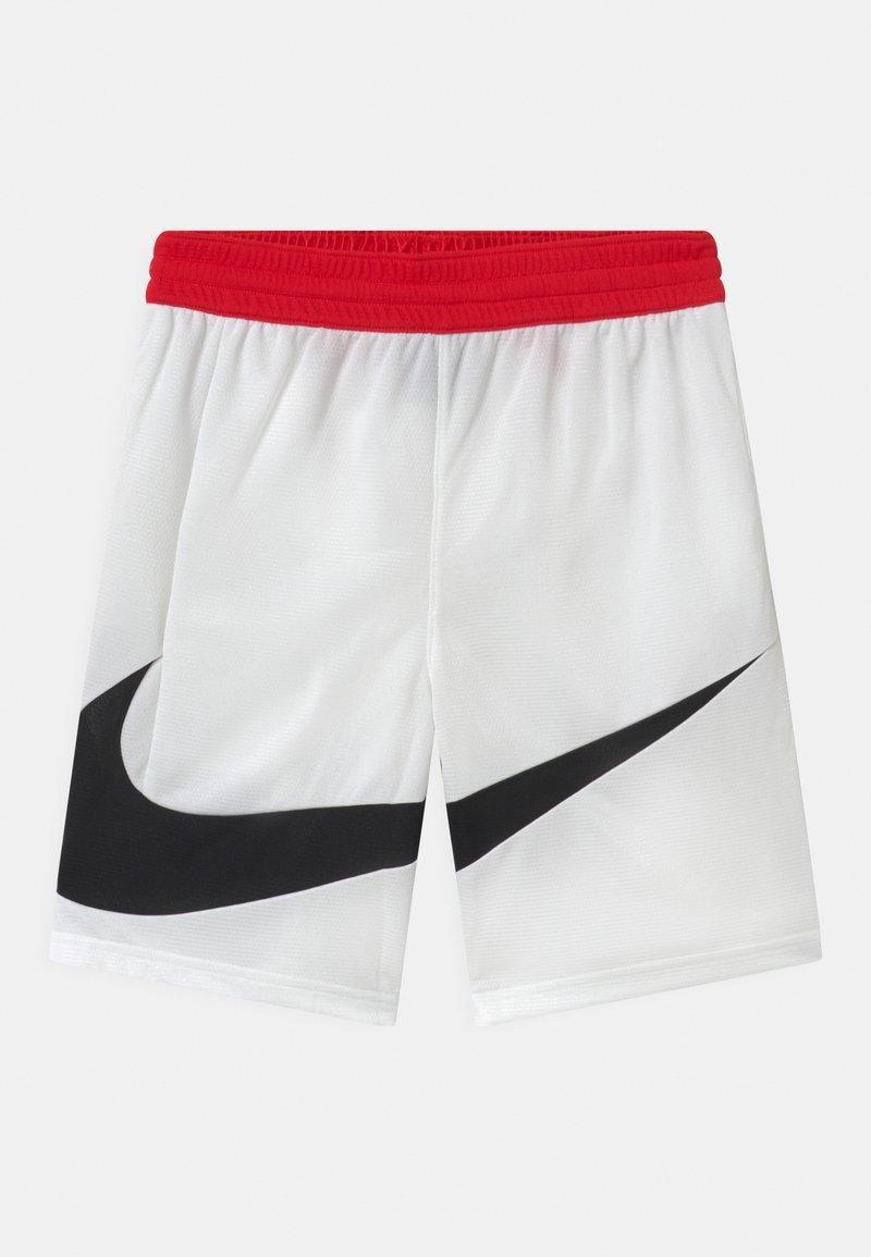 Nike Performance - BASKETBALL - Korte broeken - white/university red/black