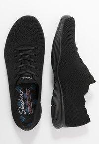 Skechers - SEAGER - Sneakers laag - black - 3