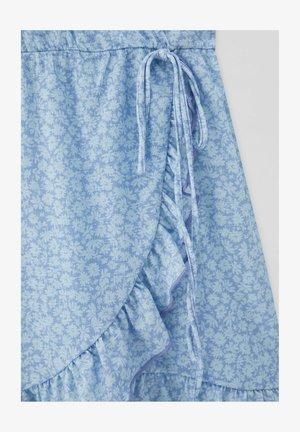 MIT PRINT - Day dress - light blue