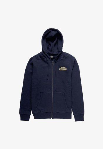 Zip-up sweatshirt - midnight blue