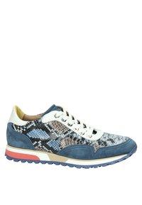 Lorenzi - Sneakers laag - blauw - 4