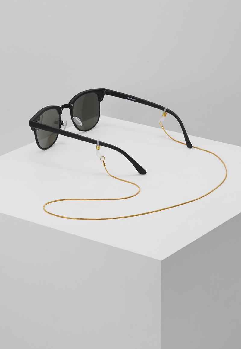 Le Specs - GOLD NECK CHAIN - Muut asusteet - gold-coloured