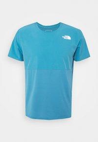 The North Face - TRUE RUN - Print T-shirt - storm blue - 3