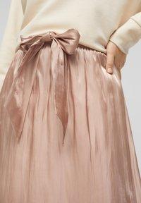 s.Oliver BLACK LABEL - A-line skirt - beige - 3