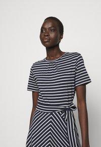 Marella - NAUTICA - Jersey dress - blu/bianco - 3