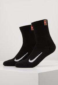 Nike Performance - COURT MULTIPLIER CUSHIONED 2 PACK UNISEX - Sportssokker - black - 0