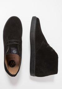Hudson London - BANGOR - Casual lace-ups - black - 1
