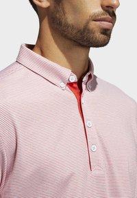 adidas Golf - ADIPURE OTTOMAN POLO SHIRT - Funktionsshirt - red - 5