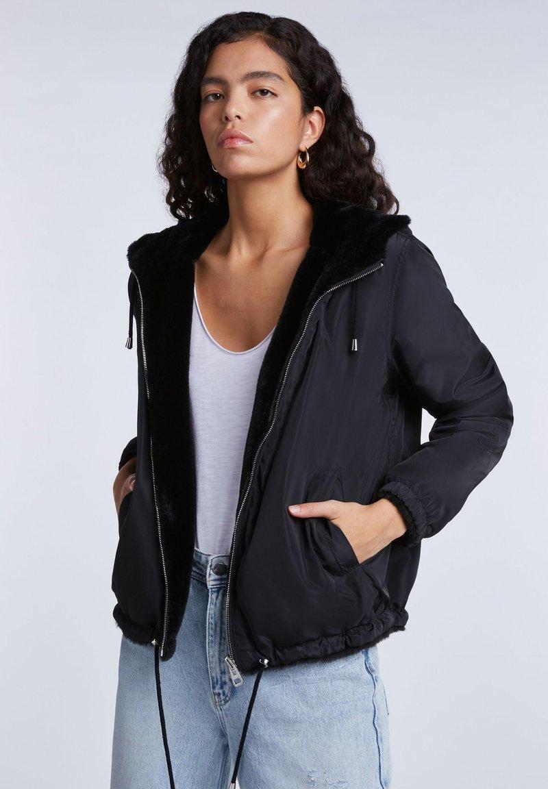 SET - Light jacket - black