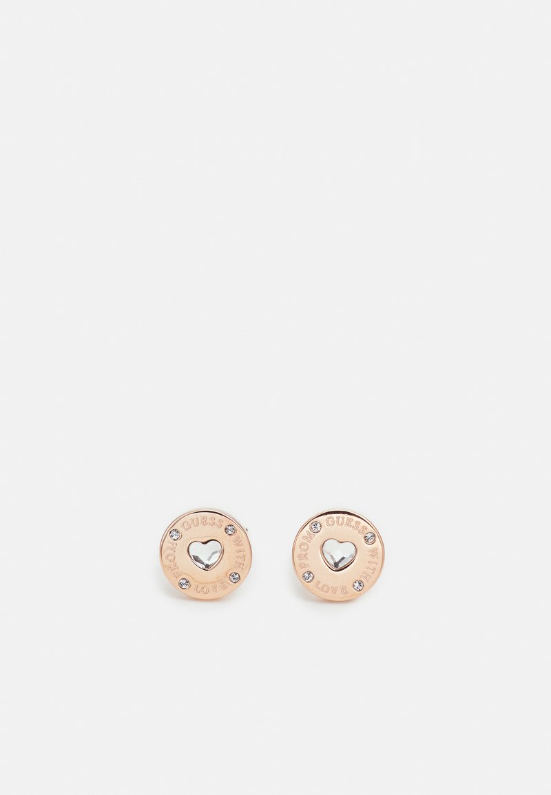 Guess - FROM GUESS WITH LOVE - Earrings - rose gold-coloured